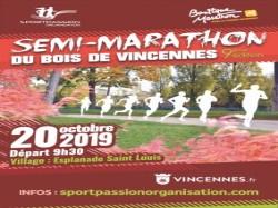 Semi marathon bois de Vincennes