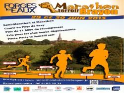 Semi marathon du terroir Brayon