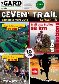 Challenge des trails Gardois 2013